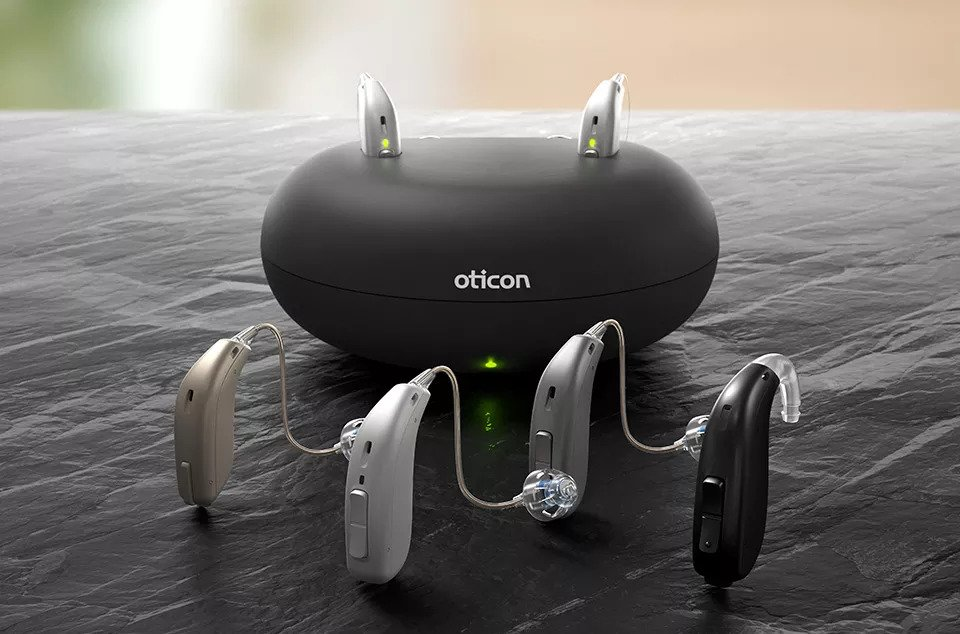 oticon hearing aid charging unit bosie